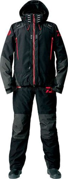 Костюм Daiwa Gore-Tex 2-Way Winter Suit Black XL - фотография 1