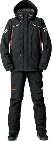 Костюм Daiwa Gore-Tex Combi-Up Hi-Loft Black XL - фотография 1