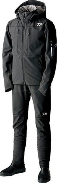 Костюм-поддевка Daiwa Cast Support Soft Shell Black XXL -  1