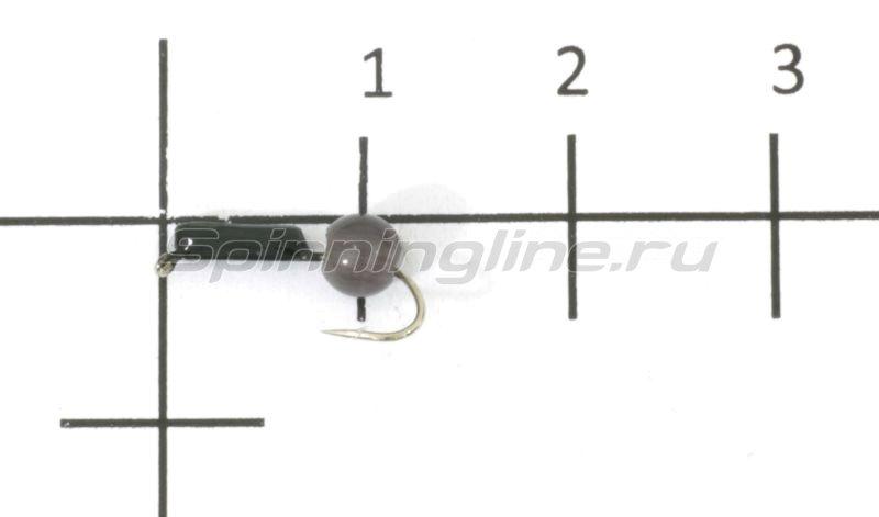Мормышка Гвоздешарик кошачий глаз d1.5 серый кр.maruto -  1