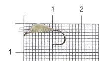Мормышка Блошка с ушком d5 никель