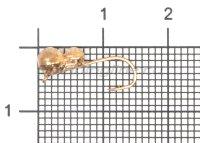 Мормышка Самка муравья d4 медь