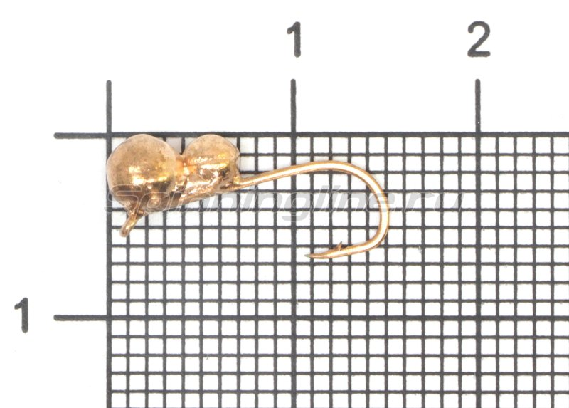Мормышка Самка муравья d4 медь -  1