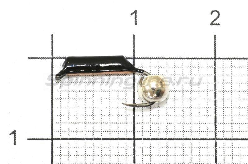 Мормышка Санхар Столбик №2 d1.5 серебряный шар, медь -  1