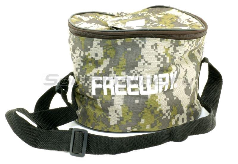 Freeway - Жерлица оснащенная в сумке (10шт) - фотография 1