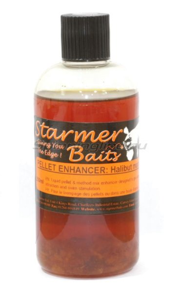 Аттрактант Starmer Baits жидкий Halibut Marine Liquid Pellet 250мл -  1