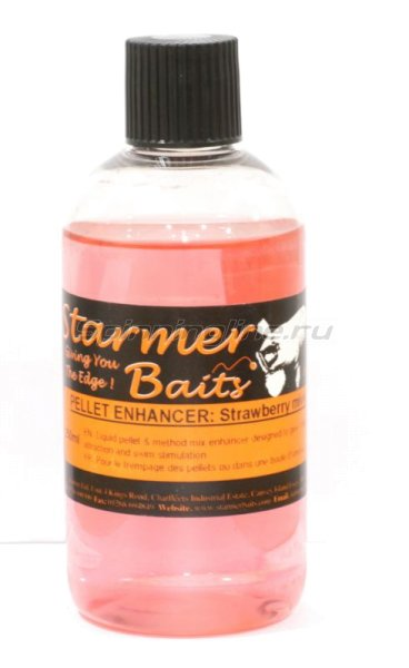Starmer Baits - ���������� ������ Strawberry Mivvi Liquid Pellet 250�� - ���������� 1