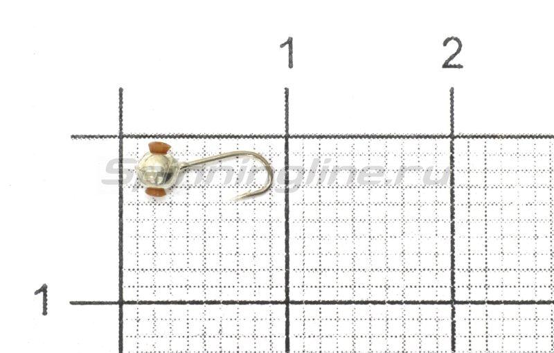 Мормышка Nautilus Дробинка с отверстием d2.5 001 серебро -  1