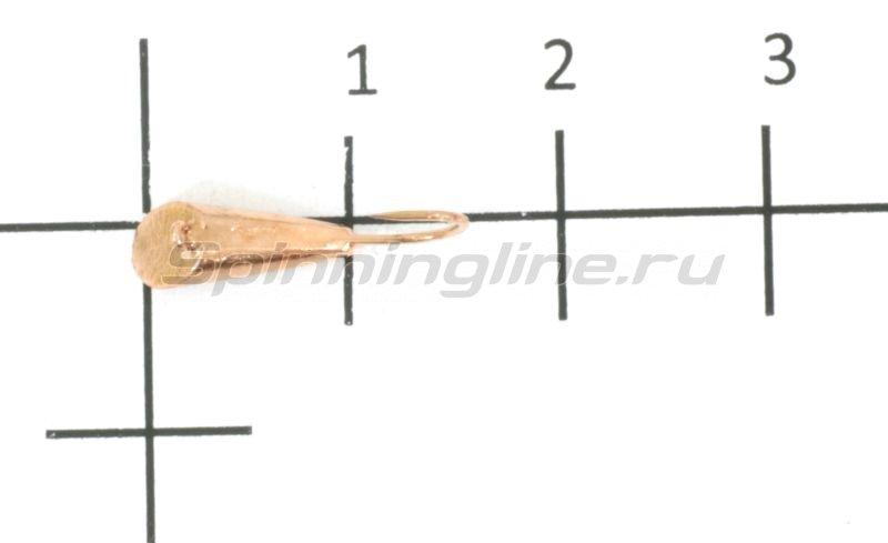 Мормышка Nautilus Конус с ушком d4 003 медь -  1