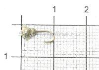 Мормышка Nautilus Матрешка d3 001 серебро