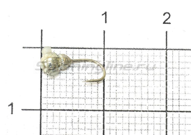 Мормышка Nautilus Матрешка d3 001 серебро -  1