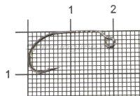 Крючок Decoy MG-3 №8