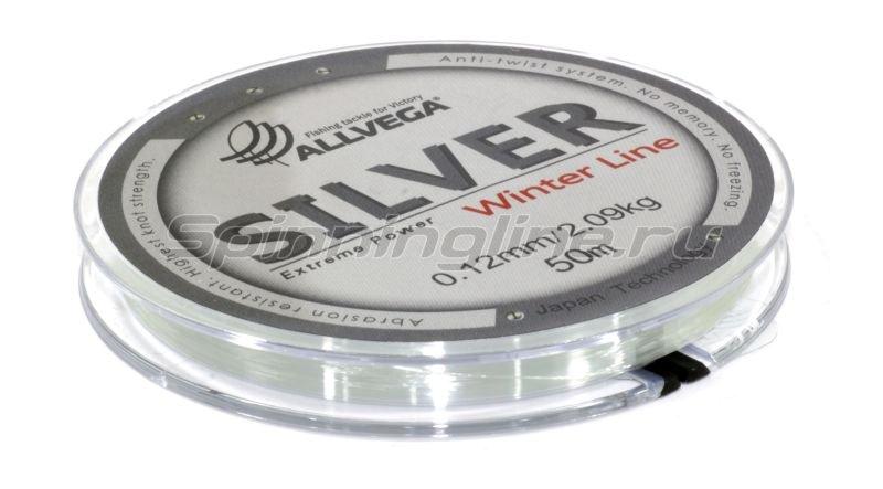 Леска Silver 50м 0,12мм -  2