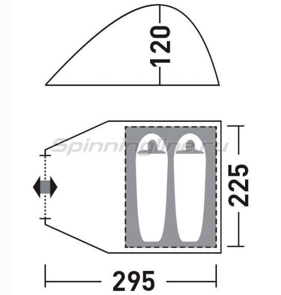 Палатка Greenell туристическая Керри 2 V2 -  2