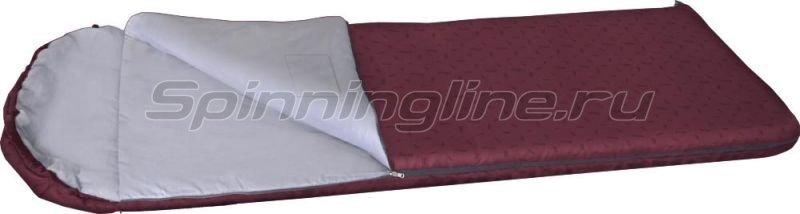 Спальный мешок Карелия 300 бордовый -  1