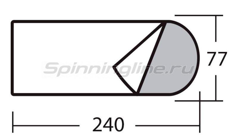 Спальный мешок Карелия 300 бордовый -  2
