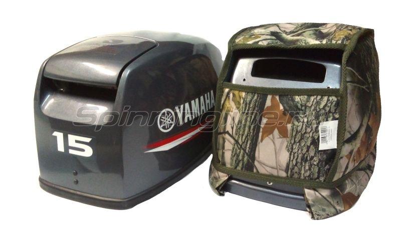 Чехол Markfish на колпак двигателя Yamaha 15 NEW (realtree camo) -  1
