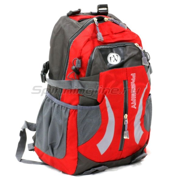 Рюкзак 2886-В1 красный малый -  1