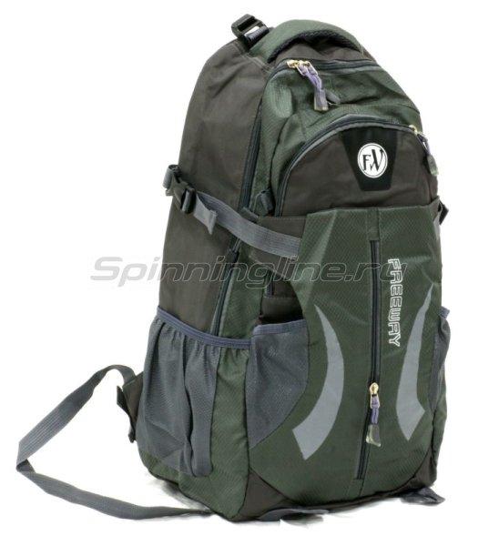 Рюкзак 2886-А1 серый большой -  1