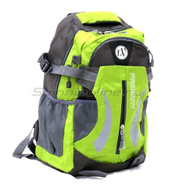 Рюкзак 2886-В1 зеленый малый -  1