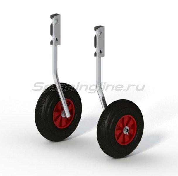 Техномарин - Комплект колес транцевых быстросъемных для НЛ типа Ротан 260мм - фотография 1
