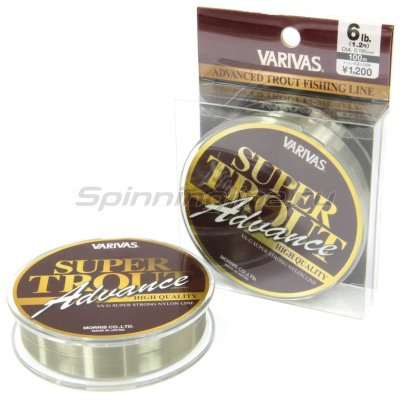 Леска Super Trout Advance 100м Nylon 0,128мм