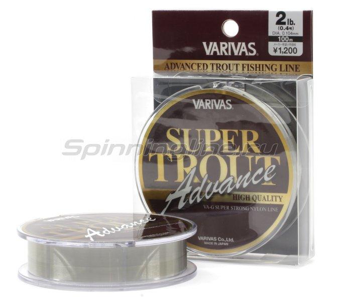 Леска Super Trout Advance 100м Nylon 0,260мм -  1