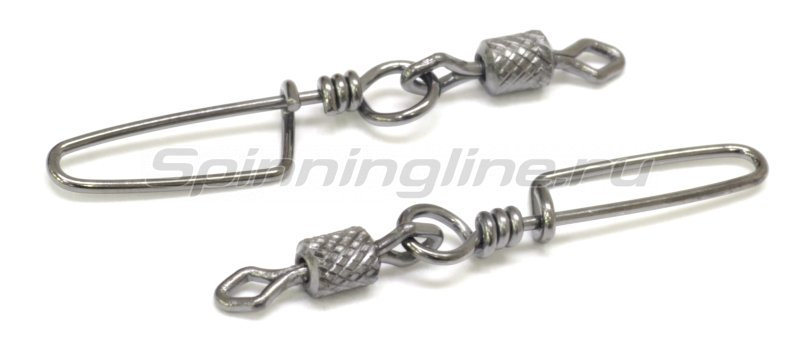 Вертлюг цилиндр с накаткой и застежкой Coastlock №6x1 -  2