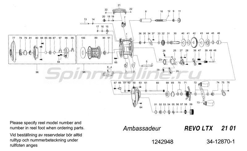 Катушка Revo LTX -  7