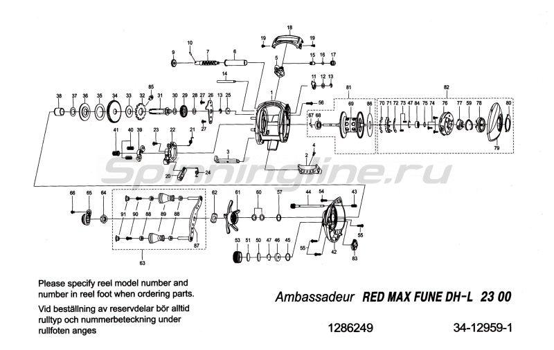 Катушка Red Max L -  6