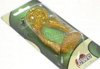 Хвост для джеркбейта Bandit Tail золотой с блестками