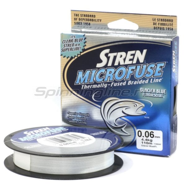 Шнур Stren Microfuse 110м GBF 0.12мм - фотография 1
