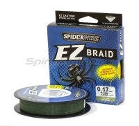Шнур Spiderwire EZ Braid 137м 0,12мм Green