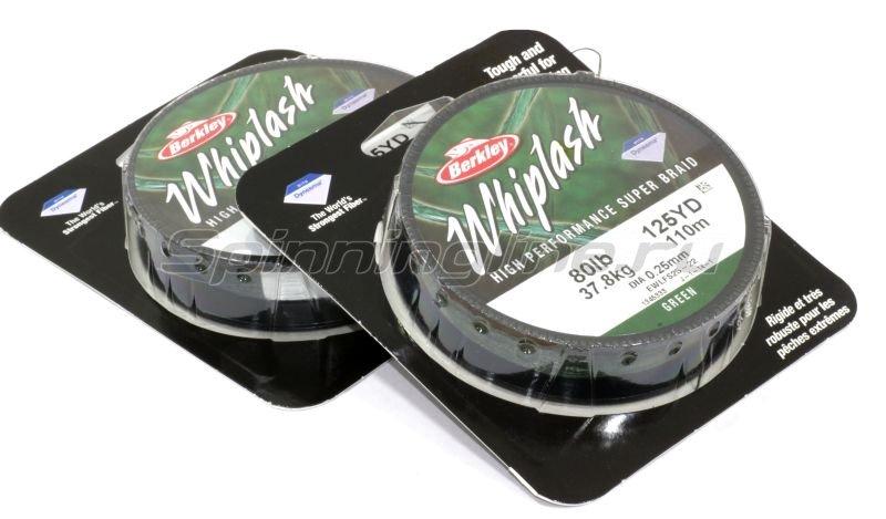 Шнур Whiplash Pro Green new 110м 0.18мм -  1