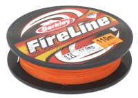 Шнур FireLine Orange 110м 0,25мм