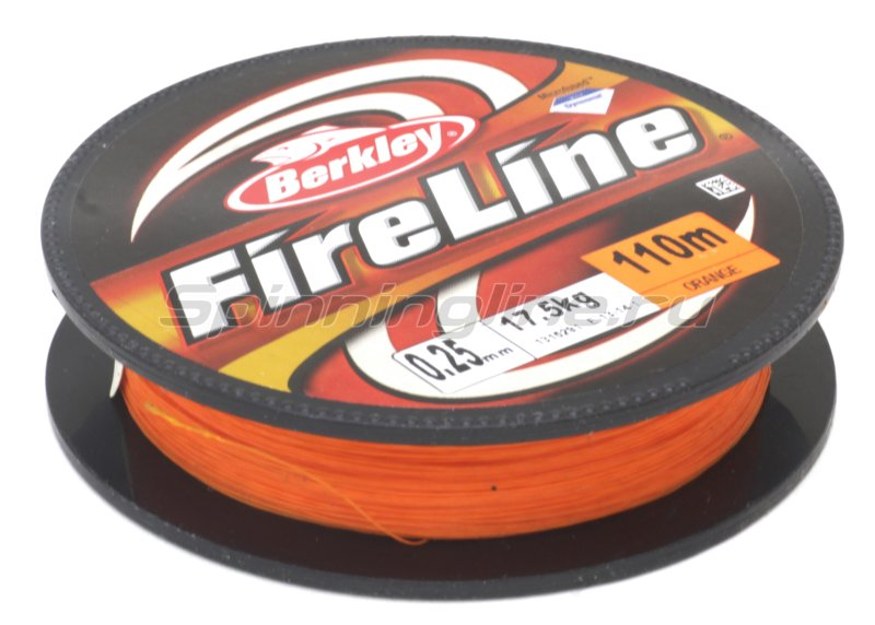 Berkley - Шнур FireLine Orange 110м 0,25мм - фотография 1