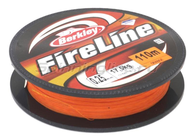 Berkley - Шнур FireLine Orange 110м 0,12мм - фотография 1