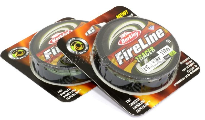 Шнур Berkley FireLine Fused Tracer 110м 0,15мм -  1
