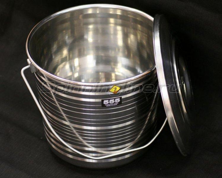 555 - Ведро с крышкой 10л - фотография 1