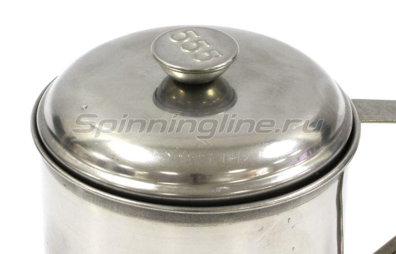 Кружка 555 9см с крышкой -  2