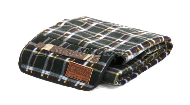 Покрывало для пикника Camping World Comforter Blanket зеленый -  1