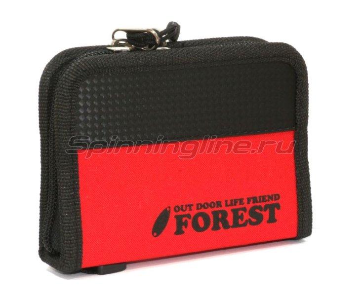 Чехол для блесен Forest Lure Case red -  1