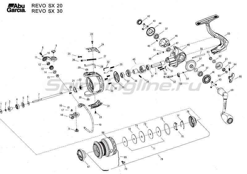 Катушка Revo SX 10 -  3