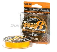 Шнур Super PE 8 Braid 150м 0.6 orange