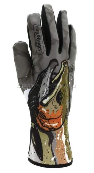 Перчатки Buff MXS Gloves BS Steelhead XS-S - фотография 1