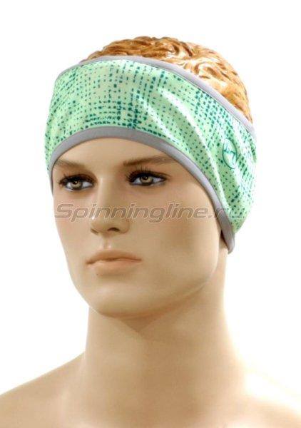 Повязка Buff Headband Pro Turquoise Pixels - фотография 1