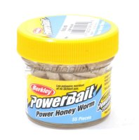 Приманка Powerbait Honey Worms 25 natural