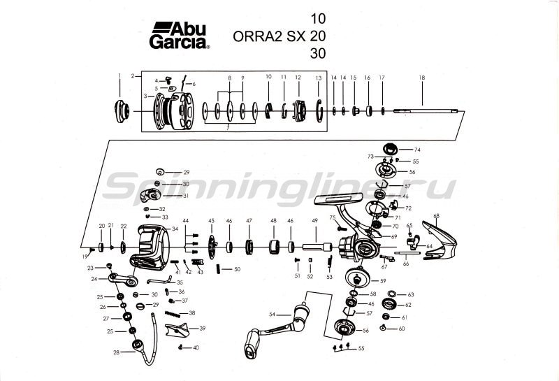 Катушка Orra 2 SX 20 -  6