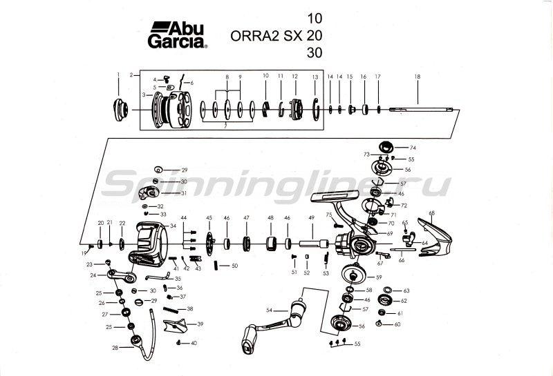 Abu Garcia - Катушка Orra 2 SX 30 - фотография 6