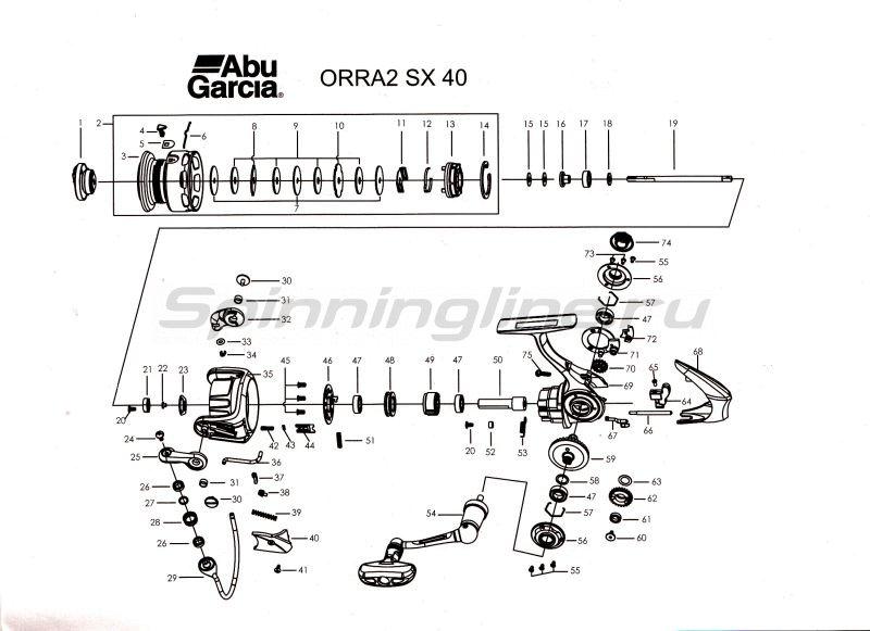 Катушка Orra 2 SX 40 -  5